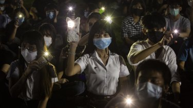 Student protestors in Thailand have been inspired by the Hong Kong protests.
