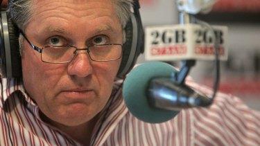2GB radio presenter Ray Hadley.
