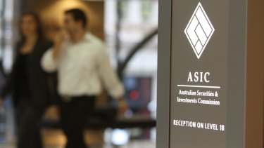 "ASIC said it had a ""very clear will"" to take wrongdoers to court."
