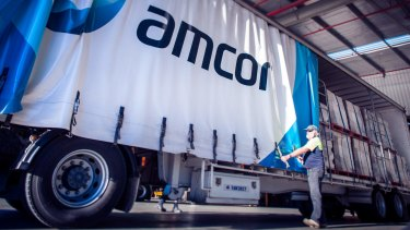 A worker at Amcor's Port Melbourne factory has tested positive for COVID-19.