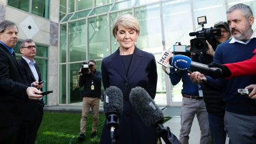 After unsuccessfully running for the leadership last week, Bishop decided to leave her dream job as foreign affairs minister.