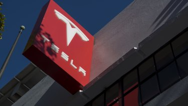 Tesla shares have dropped more than 38 per cent this year.