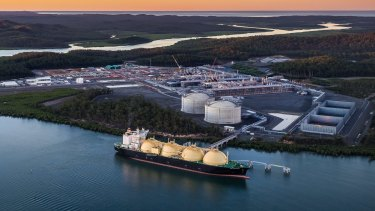 Power giant Origin Energy part-owns the Asia Pacific LNG project in Queensland.