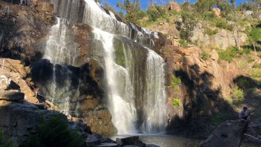 MacKenzie Falls in the Grampians National Park.