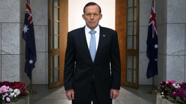 Former prime minister Tony Abbott vowed to represent the members who voted against him.