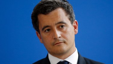 France's Interior Minister Gerald Darmanin.