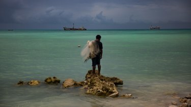 Low-lying countries such as Kiribati are threatened by climate change.