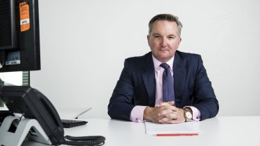 Shadow treasurer Chris Bowen has defended Labor's policy on trusts.