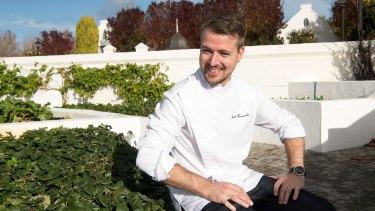 Voyager Estate Restaurant head chef Santiago Fernandez.