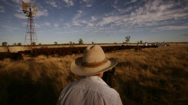 Sidney Kidman found a way to make money out of drought.