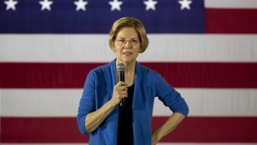 Capitalist: Senator Elizabeth Warren, a Democrat and 2020 presidential candidate.