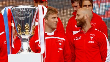 Kieren Jack and Jarrad McVeigh (right) are both retiring at the end of this season.