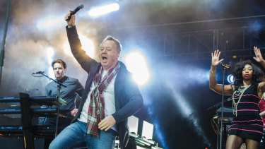 Simple Minds at Rochford Winery.