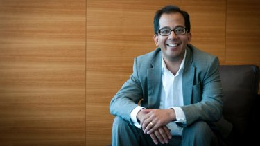 """Brisbane-based TechnologyOne chief executive Ed Chung: """"Our business doubles in size every four to five years."""""""