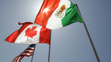 An Australian woman is accused of trying to smuggle her Mexican fiancee into the US via Canada.