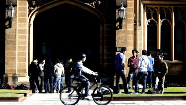 Some Indian students perceive Australian education as lacking gravitas.