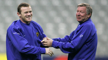 Matt Derbyshire could have joined Sir Alex Ferguson and Wayne Rooney at United.