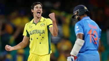 Starc was near unstoppable at the 2015 World Cup.