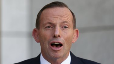 Tony Abbott has urged Scott Morrison to proceed with a controversial shift in policy on Israel.