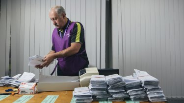 The postal addresses of 938 candidates were accidentally published on the Australian Electoral Commission's website.