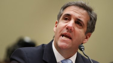 Michael Cohen, former personal lawyer to US President Donald Trump.