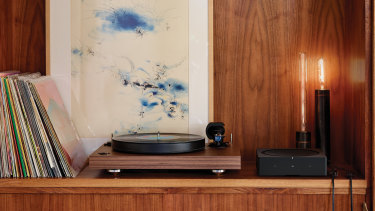 The Amp is small for a hi-fi receiver, and nice enough to leave out in the open.