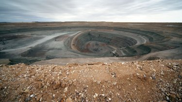 OZ Minerals owns the Prominent Hill copper-gold mining operation in northern South Australia.