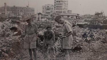 The Hiroshima aftermath.
