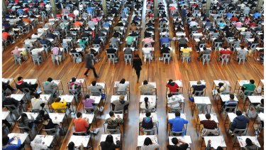 Queensland's year 12 students will sit four exams from 2020 as the OP score system is scrapped.