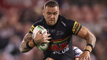 James Fisher-Harris is one of the quietest but fiercest players at Penrith.