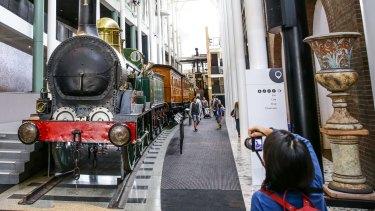 The Powerhouse Museum's Locomotive No. 1.