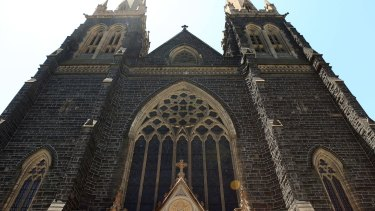 Melbourne's St Patrick's Cathedral.