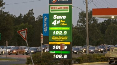 Brisbane's low petrol prices are tipped to jump to much higher levels soon.