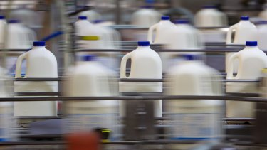 Milk producer Lactalis is scaling down its Queensland operations.