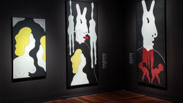 Brent Harris work in Adelaide's Biennial.