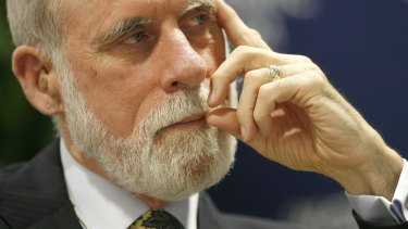 """We have a lot of work to do to clean up the ecology that we've created."": Vint Cerf."
