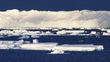 The 120km-long Totten Glacier is showing signs of melting from below, draining the East Antarctic Ice Sheet.