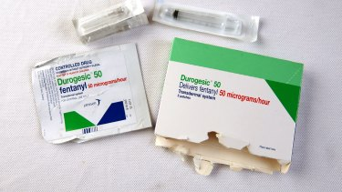 Deaths from the powerful prescription painkiller fentanyl are on the rise.