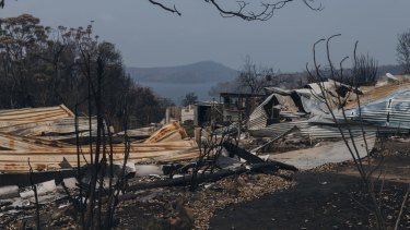 Properties destroyed in Conjola Park on the NSW South Coast: a small part of the devastation we have all lived through this summer.