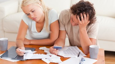 Money troubles can be a leading cause of stress for couples.
