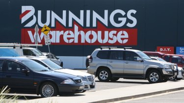 Warrnambool Bunnings warehouse store.