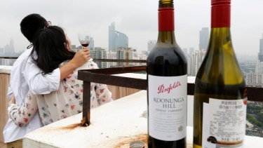Forty per cent of Australia's wine exports go to China. We can't replace that market with buyers from teetotal India or Indonesia.