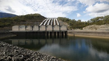 Snowy Hydro Tumut 3 power station, at Talbingo.