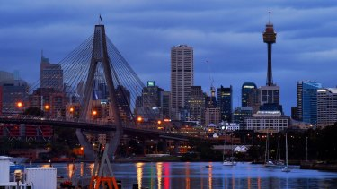 Sydney has lost momentum in some sectors, such as banking.