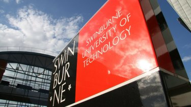 Swinburne University of Technology will accept students in many courses with no ATAR.