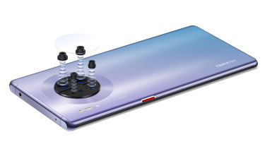 Huawei's Mate 30 Pro has four rear cameras.