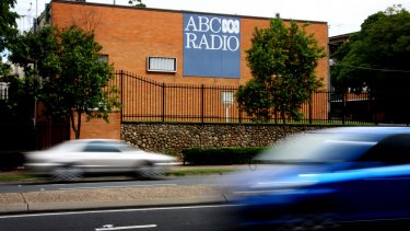 The former ABC studios at Toowong. The buildings were demolished in late 2014.