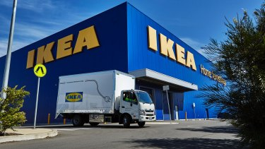 Ikea Australia has maintained its sales and losses despite a tumultuous retail environment.