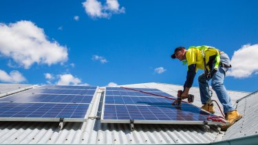 The Coalition says it will make it easier for apartment blocks to install solar panels.
