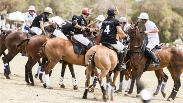The Portsea Polo on Saturday was one of the last events of the holiday calendar.